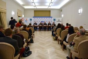Tradycyjnie podczas konferencji prasowej organizowanej 10 dni przed meczem ogłoszony został skład reprezentacji biało-czerwonych na spotkanie z Chorwatami, fot. R. MotylFotografia 3 z 5