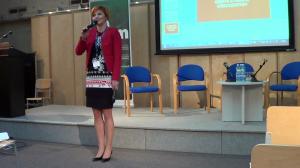 dr Justyna Jasiewicz  Cyfrowe wyzwania. Kompetencje Polaków w obliczu rozwoju nowych technologii fot. ŚWIECZAK