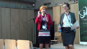 dr Justyna Jasiewicz, Dominika Czerniawska Cyfrowe wyzwania. Kompetencje Polaków w obliczu rozwoju nowych technologii fot. ŚWIECZAK