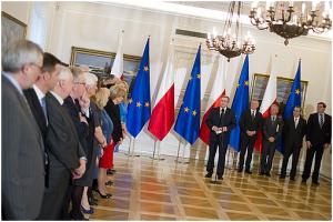 fot. Piotr Molecki Spotkanie Prezydenta z posłami do Parlamentu Europejskiego w Belwederze