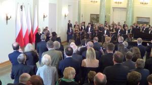 Odznaczenia z okazji Dnia Polonii i Polaków Za Granicą,Maria FELFÖLDII fot.ŚWIECZAK