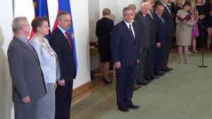 Prezydent wręczył odznaczenia państwowe zasłużonym twórcom kultury fot.ŚWIECZAK