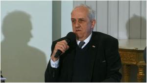 """prof.Andrzej FRISZKE Konferencja """"Wspólnota ponad kordonem"""" fot.ŚWIECZAK"""