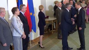 Maciej STUHR Prezydent wręczył odznaczenia państwowe zasłużonym twórcom kultury fot.ŚWIECZAK