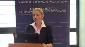 Barbara Szymborska, Dyrektor Biura Pełnomocnika Rządu do Spraw Równego  Konferencja Przeciw mowie nienawiści fot. ŚWIECZAK