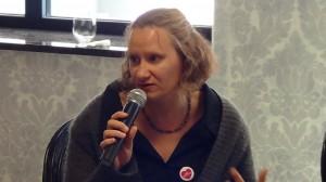 """Berenika Anders, Kampania Rady Europy """"Bez Nienawiści"""" Konferencja Przeciw mowie nienawiści  fot. ŚWIECZAK"""