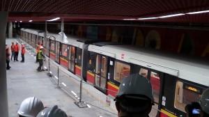 II linia metra w Warszawie  fot: ŚWIECZAK