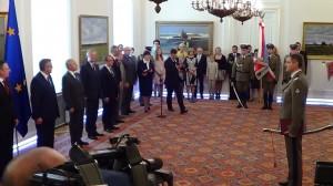 Nominacja generalska dla szefa BOR Krzysztofa Klimka fot.ŚWIECZAK