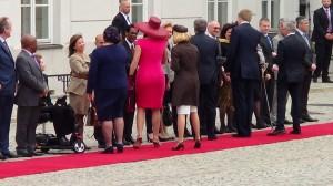 Niderlandzka Para Królewska w Polsce fot. ŚWIECZAK