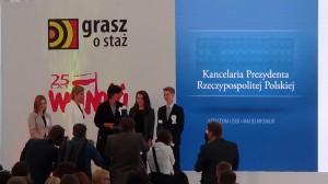 """Gala Finałowa 19. edycji konkursu """"Grasz o staż"""" fot: ŚWIECZAK"""
