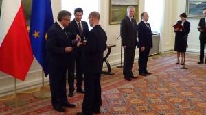 """Bartosz Woźniak Finał konkursu """"Filary demokracji lokalnej"""" fot: ŚWIECZAK"""