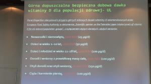 """I Konferencja Naukowa """"Witamina D – eliksir zdrowia"""" fot. ŚWIECZAK"""