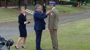 Odznaczenia dla żołnierzy zawodowych i pracowników wojska fot. ŚWIECZAK