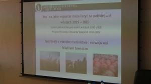 spotkanie z p. Markiem Sawickim  Ministrem Rolnictwa i Rozwoju Wsi fot.ŚWIECZAK