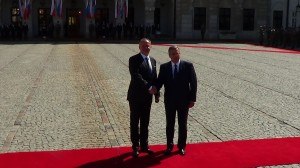 Prezydent Republiki Słowackiej Andrej Kiska w Polsce fot.ŚWIECZAK