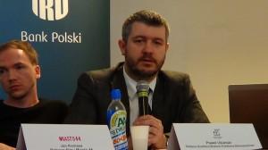Paweł Ukielski -zastępca dyrektora Muzeum Powstania Warszawskiego  XXIV Bieg Powstania Warszawskiego fot.ŚWIECZAK