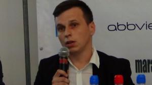 •Rafał Linek - Stowarzyszenie Chorych na ZZSK i osób ich wspierających XXIV Bieg Powstania Warszawskiego  fot.ŚWIECZAK