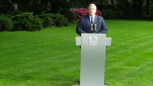 Konferencja prasowa Prezydenta RP w spr.zestrzelonego samolotu fot.ŚWIECZAK