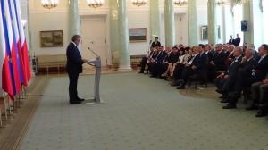Spotkanie Prezydenta Bronisława Komorowskiego z Ambasadorami RP  fot.ŚWIECZAK