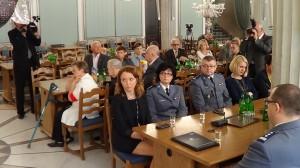 Sympozjum z okazji 95-lecia Policji  fot.ŚWIECZAK