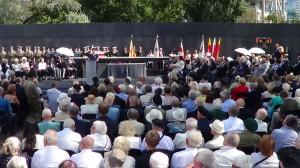 Uroczystości z okazji 70. rocznicy Powstania Warszawskiego w Parku Wolności przy Muzeum Powstania Warszawskiego  fot.ŚWIECZAK