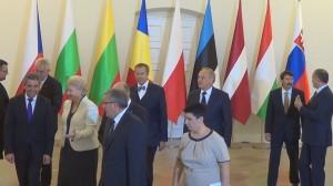 Spotkanie prezydentów państw bałtyckich, Grupy Wyszehradzkiej, Bułgarii i Rumunii  fot ŚWIECZAK