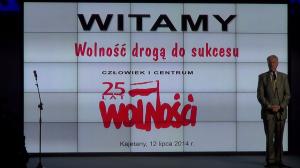Prof. Michał Kleiber Prezes Polskiej Akademii Nauk LUDZIE SUKCESU 25-lecia Wolnej Polski fot. ŚWIECZAK