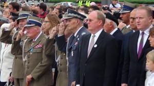 Uroczysta zmiana posterunku honorowego przed Grobem Nieznanego Żołnierza fot. ŚWIECZAK