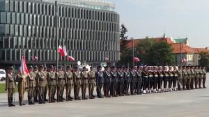 Uroczystości Wojska Polskiego - złożenie kwiatów pod Grobem Nieznanego Żołnierza fot.ŚWIECZAK