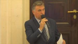 Janusz Piechocki Burmistrz Margonina   Krajobraz a energetyka wiatrowa – poszukiwanie ładu fot.ŚWIECZAK