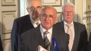 25. rocznica podpisania porozumienia pomiędzy Solidarnością – ZSL – SD w Pałacu Myślewickim fot.ŚWIECZAK