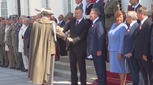 Uroczystość wręczenia nominacji generalskich, odznaczeń i pożegnanie generałów