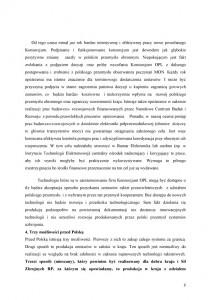 """Nowy system obrony powietrznej """"Tarcza Polski""""-stanowisko PLP  uzasadnienie str.6"""