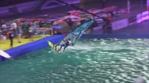 Windsurfing na Stadionie Narodowym  to część prestiżowego cyklu PWA World Tour- 5 września eliminacje Fot. ŚWIECZAK