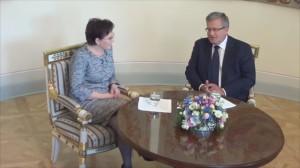 spotkanie prezydenta z kandydatką na premiera Ewą Kopacz fot.ŚWIECZAK