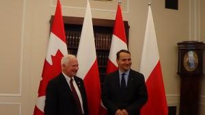 Spotkanie Marszałka Sejmu z gubernatorem generalnym Kanady  fot. ŚWIECZAK