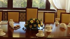 Spotkanie Marszałka Senatu z gubernatorem generalnym Kanady  fot. ŚWIECZAK