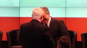 Prezydent RP Bronisław Komorowski  Gubernator Generalny Kanady David Johnston, Polsko-Kanadyjski Panel Innowacyjności  fot. ŚWIECZAK