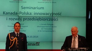 Gubernator Generalny Kanady David Johnston, Polsko-Kanadyjski Panel Innowacyjności  fot. ŚWIECZAK