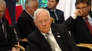 Gubernator Generalny Kanady David Johnston Polsko-Kanadyjski Panel Innowacyjności  fot. ŚWIECZAK