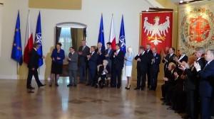 Spotkanie Prezydenta RP z darczyńcami Muzeum Historii Żydów Polskich fot. ŚWIECZAK