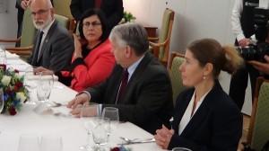 Prezydent Izraela gościem marszałka Senatu fot. ŚWIECZAK