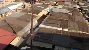 Obecny widok Bazaru Różyckiego przed modernizacją – nową zabudową - nowym centrum lokalnym starej Pragi fot. ŚWIECZAK