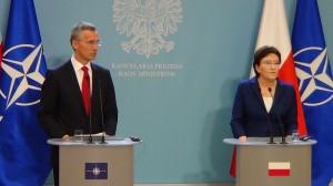 Wizyta sekretarza generalnego NATO Jensa Stoltenberga u premier Ewy Kopacz fot. ŚWIECZAK