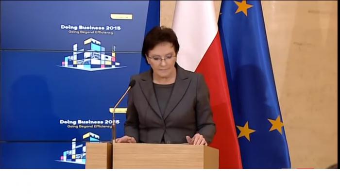"""Prezentacja raportu Banku Światowego """"Doing Business Poland 2015"""""""