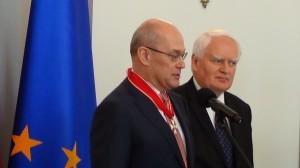 Odznaczenia za wspieranie polskiej transformacji  fot. ŚWIECZAK