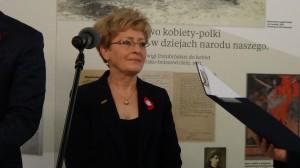 wicemarszałek Sejmu Elżbieta Radziszewska. Posłanki i Senatorki II RP – wystawa w Sejmie fot. ŚWIECZAK