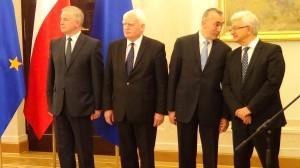Prezydent Komorowski powołał Annę Trzecińską na Wiceprezesa NBP fot. ŚWIECZAK