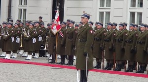 Prezydent Bułgarii Rosen Plewnelijew w Warszawie  fot. ŚWIECZAK