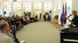 Uroczystość wręczenia odznaczeń z okazji Dnia Pracownika Socjalnego  fot. ŚWIECZAK
